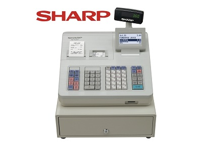 SHARP XE-A307W Cash Register