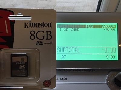 Euro Cash Register Ltd Casio SE-S400 & Hands Free barcode scanner
