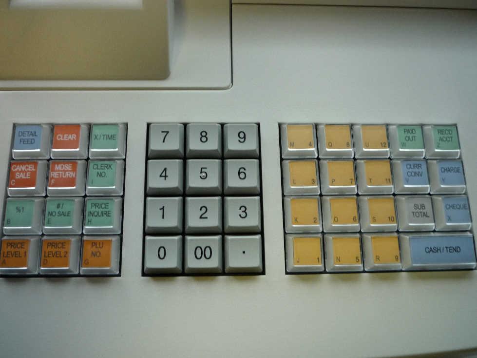 how to use cash register er 380