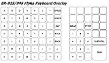 Sam4s er 945 help videos for Cash register keyboard template