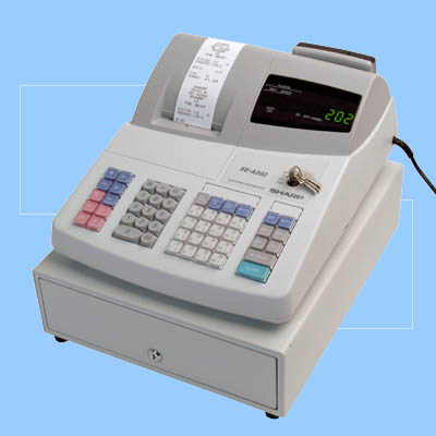 sharp xe a202 cash register rh cashregistergroup com Sharp Cash Register Mechanical Cash Register