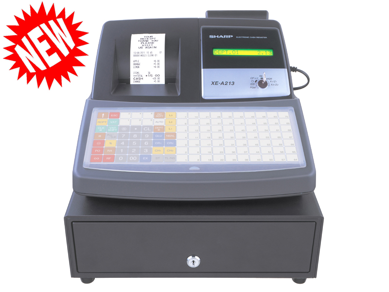 Euro Cash Register Ltd SHARP XE-A213B Cash Register