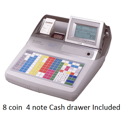 Casio TE 4500 Cash register